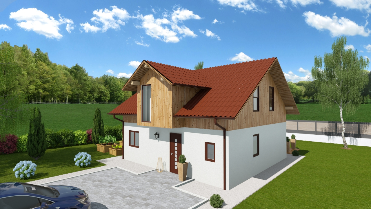Lesena hiša Quintia