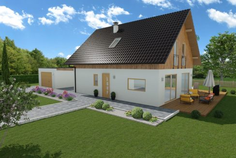 Hiša iz lesa Marilla