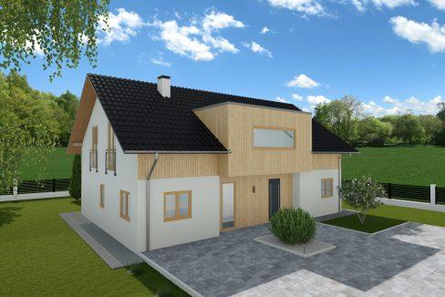Hiša iz lesa Digna
