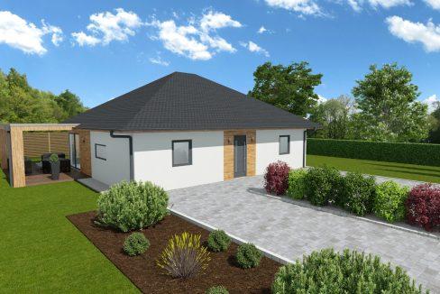 Montažna hiša bungalov Ultima