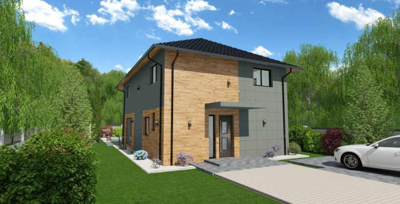 Hiša iz lesa Calytrix
