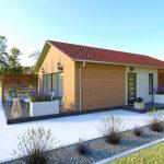 Lesena hiša Roanna
