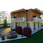 Lesena hiša Lavinia