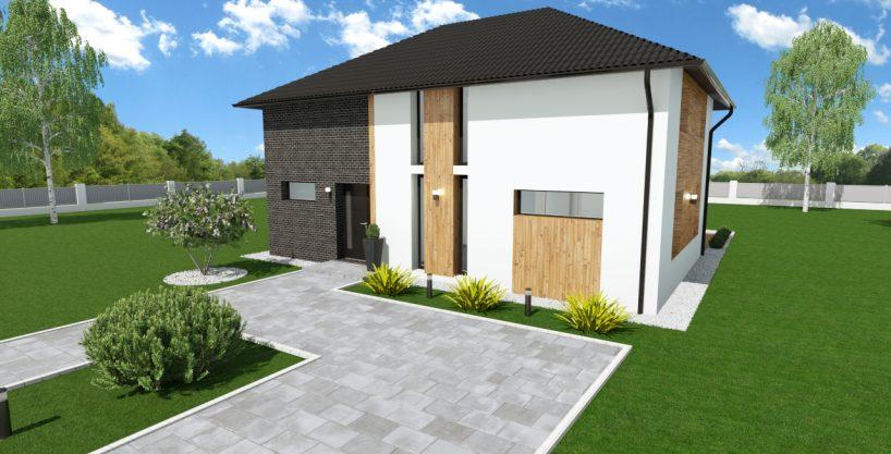 Montažna hiša Jean